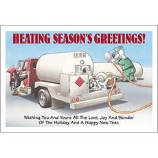Heating Seasons Greetings