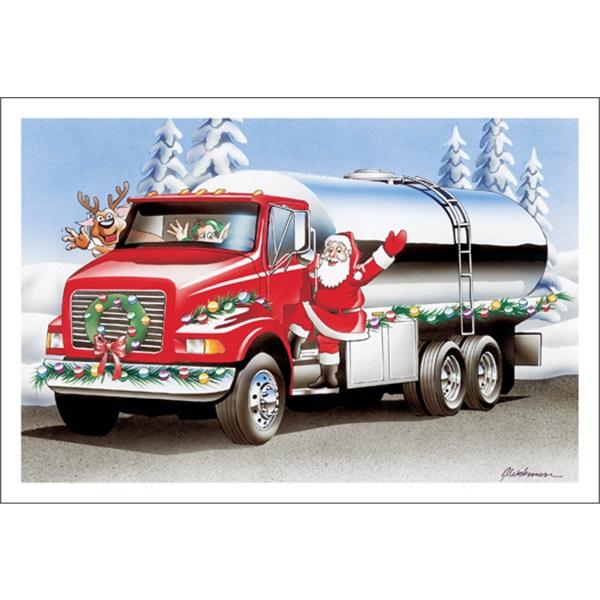 Santa's Ready To Fuel