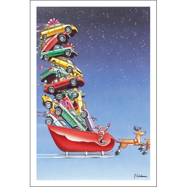New Cars In Santa's Sleigh
