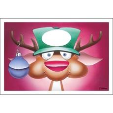 Reindeer Logo Hat