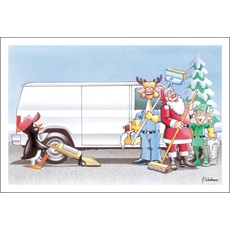 Janitorial Christmas Cards Paul Oxman Publishing