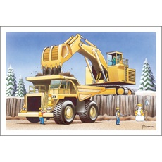 Shovel And Dump Truck