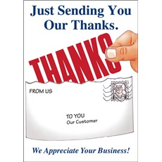 Just Sending You Our Thanks