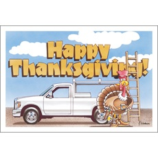 Happy Thanksgiving Repair Truck
