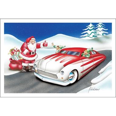 Elf Driving Mercury Style Car