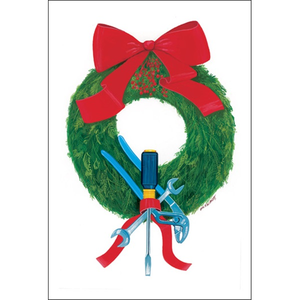 Screwdriver Wreath