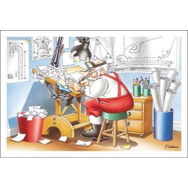 Santa The Draftsman