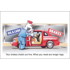 Your Brakes Check Out Fine