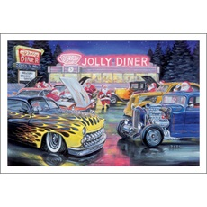 Car Show At The Jolly Diner