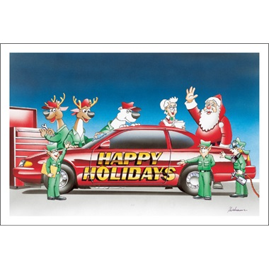 Happy Holidays Auto Body