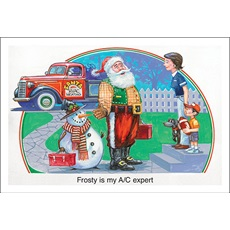 Frosty Is My AC Expert