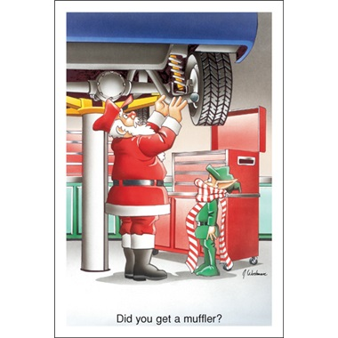 Did You Get A Muffler?