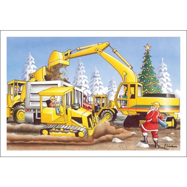 Santa's Big Dig