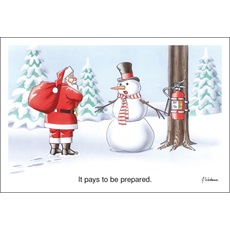 It Pays To Be Prepared