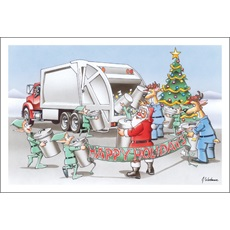 Happy Holidays From Your Waste Management Crew
