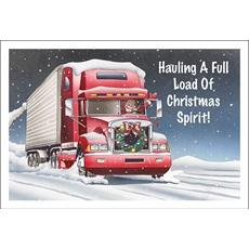 Hauling Christmas Spirit