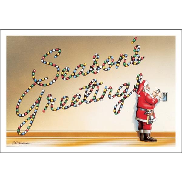 Season's Greetings Lighting