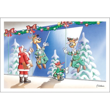 Reindeer Install Glass