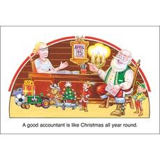 Christmas Accountant.Accounting Christmas Cards Paul Oxman Publishing