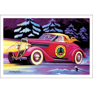 Santa's Street Rod Coupe Christmas Special