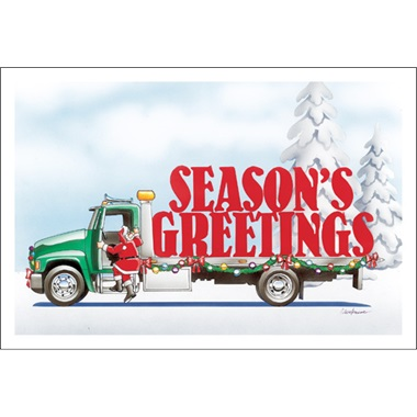 Towing Season's Greetings