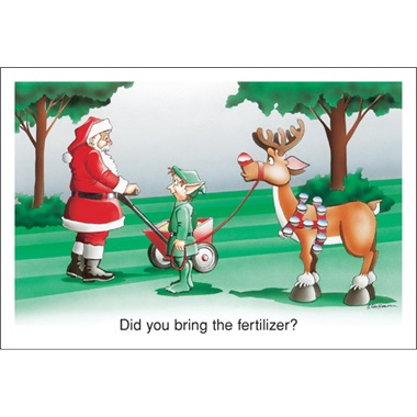 Did You Bring The Fertilizer?