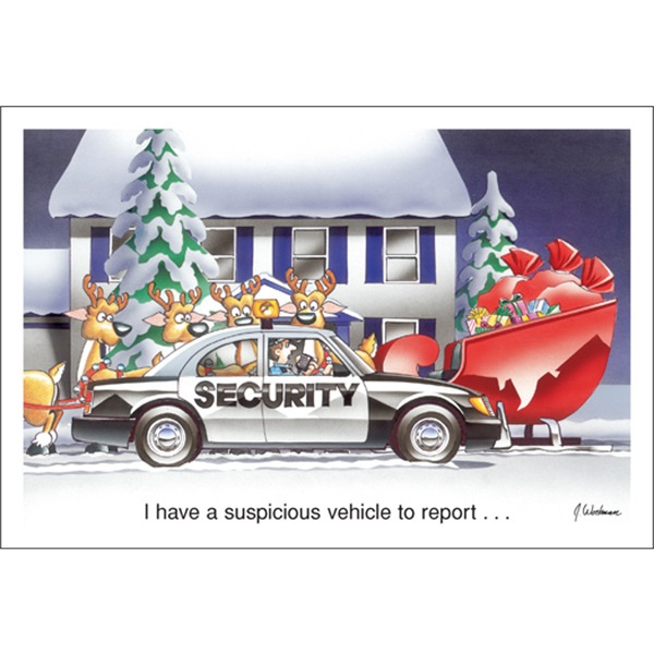 A Suspicious Vehicle To Report