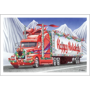Happy Holidays Mountain Trucking