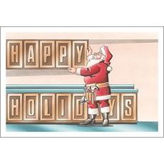 Happy Holidays Cabinets