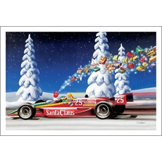 Gifts Flying Out Of Race Car