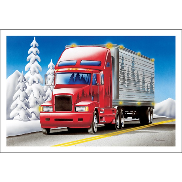 Trucking Down The Road