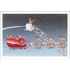 Hi-Ya Santa, Be Safe
