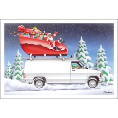Hold On Tight Santa Here We Go