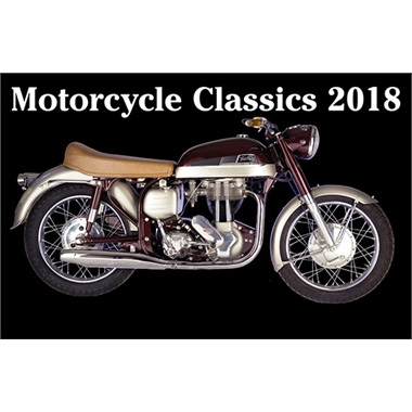 Classic Motorcycles 2018 Calendar