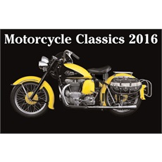 Classic Motorcycles 2016 Calendar