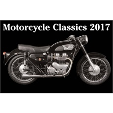 Classic Motorcycles 2017 Calendar