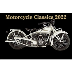 Classic Motorcycles 2022 Calendar