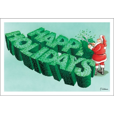 Happy Holidays Landscaping