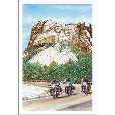 Cruising Mount Rushmore