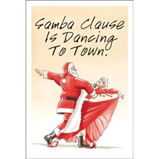 Samba Clause Is Dancing To Town