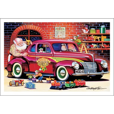 Santa's Street Rod Coupe Express