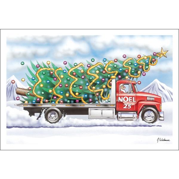 Christmas Tree Flatbed