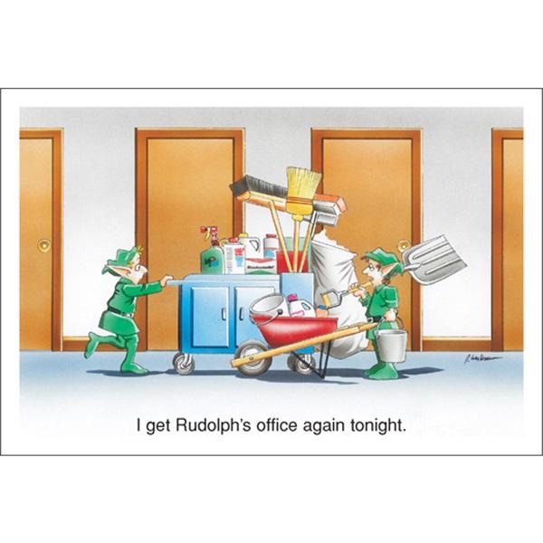 I Get Rudolph's Office