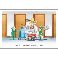 I Get Rudolph's Office Again Tonight