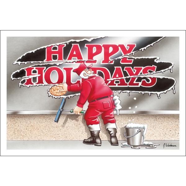 Window Washing Happy Holidays