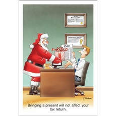 Bringing A Present Will Not Affect Your Tax Return