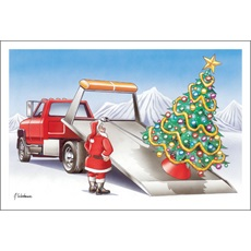 Flat Bed Tow Truck Tree