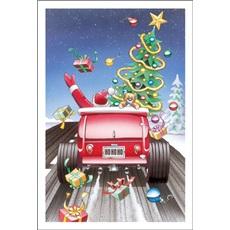 Ho Ho Ho There Santa Goes
