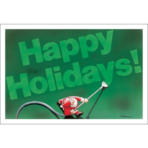 Carpet Cleaner Happy Holidays