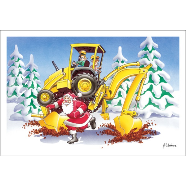 Elves And Backhoes Don't Mix